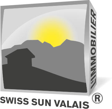 Agence Immobilière Swiss Sun Valais au coeur des Alpes Suisse à Sierre en Valais - Logo