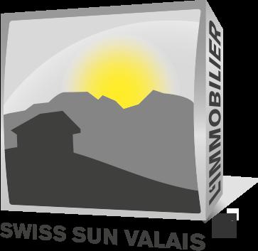 Agence Immobilière Swiss Sun Valais au coeur des Alpes Suisse à Sierre en Valais - Logo
