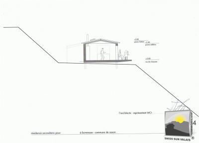 BOVERESSE sur Saxon CHF 60/m²  Terrain à bâtir de 1273 m2