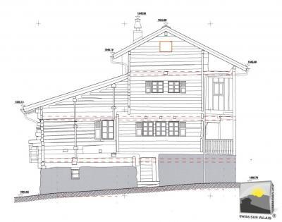 MASE/ Mont-Noble. CHALET  9 pces de 137 m²
