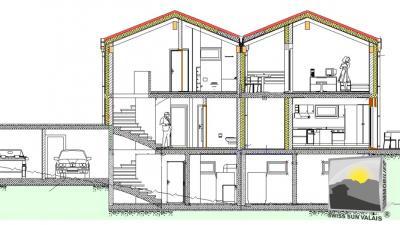 VEYRAS  Villa 5.5 pces de 168 m2