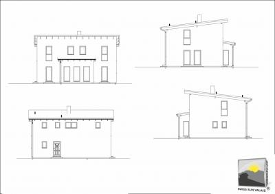 VEYRAS jolie Villa neuve 5.5 pces de 155 m2