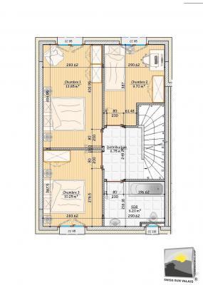SAILLON Maison de ville NEUVE 4.5 Pces de 129 m²
