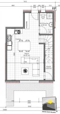 SAILLON Maison de ville NEUVE 4.5 Pces de 125 m²