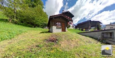 VISSOIE / Anniviers Cabanon de 10 m² et potager de 123 m²
