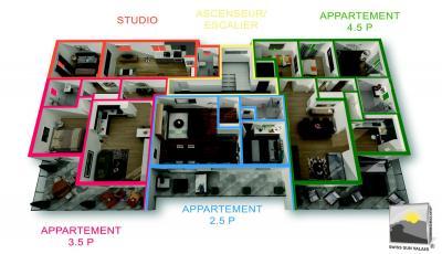 ARDON appartement terrasse neuf 4.5 de 124 m²