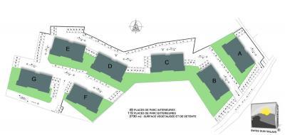 ARDON appartement terrasse neuf 3.5 de 100 m²
