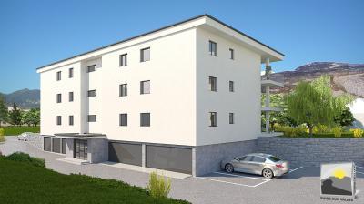 ARDON appartement rez-de-jardin neuf 2.5 de 73 m²