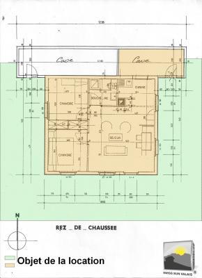 MAYENS DE MASE Appartement 3.5 pces de 77m²